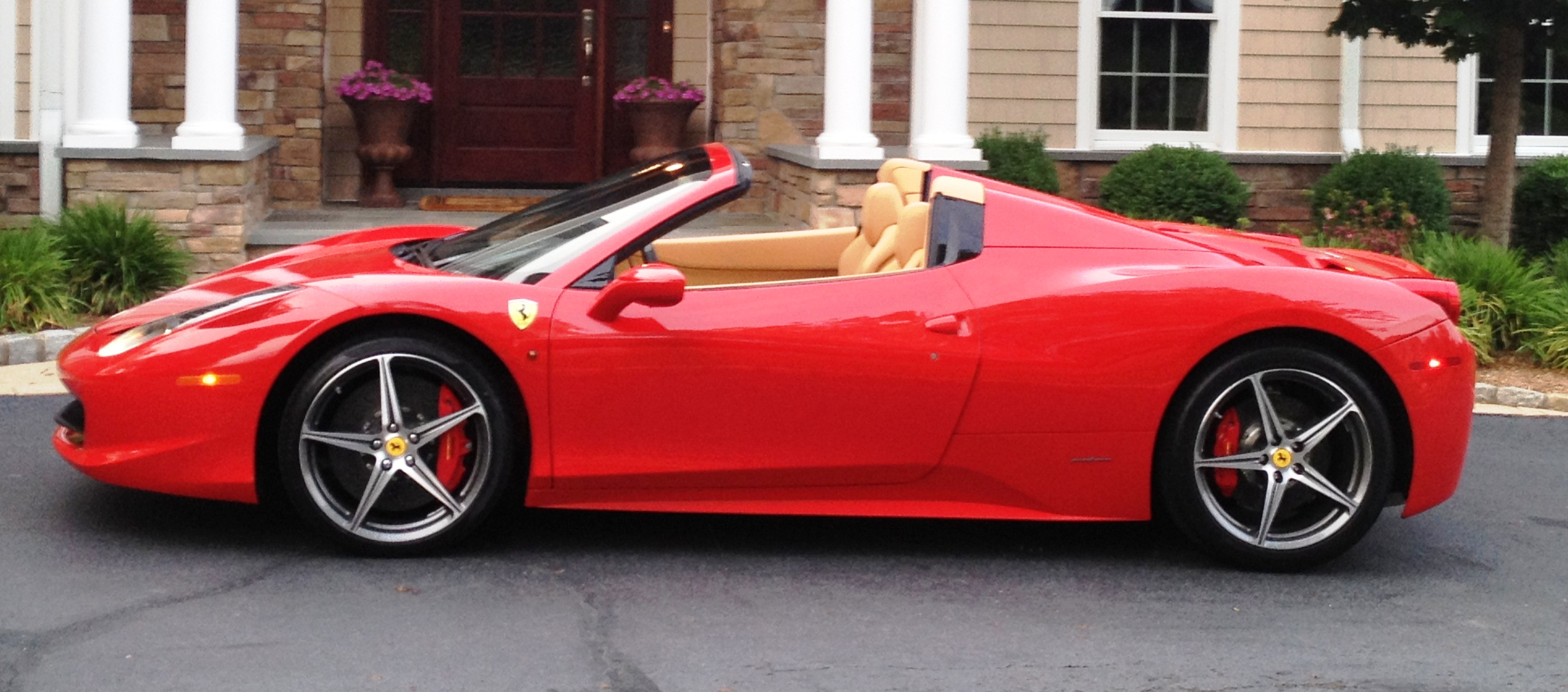 » red 458 spider Exotic Car Search  Ferrari 458 Spider Red