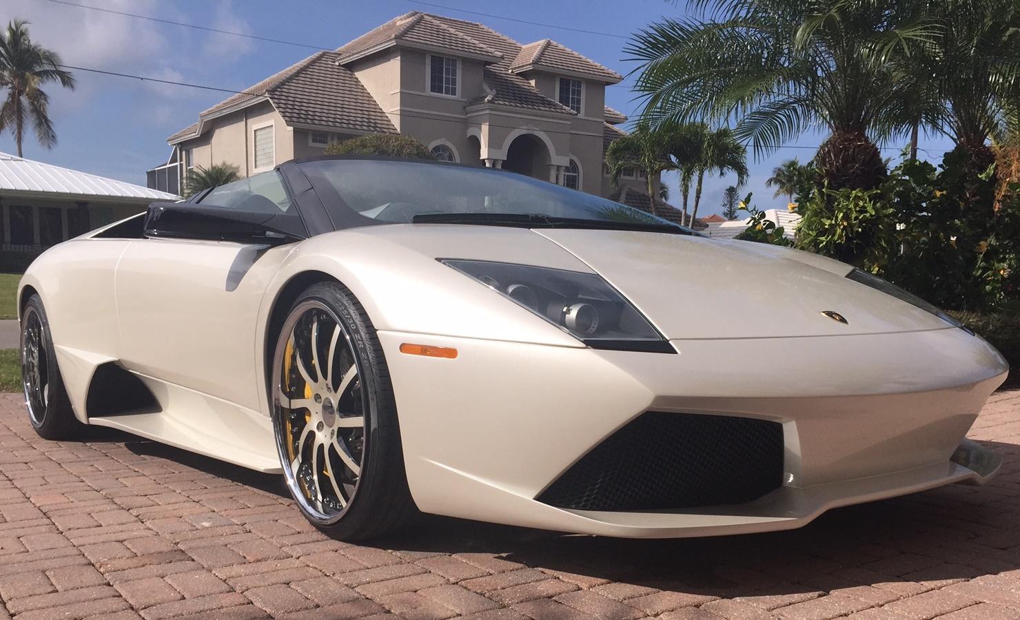 2008 Lamborghini Murcielago Lp640 Roadster Sold Exotic Car Search