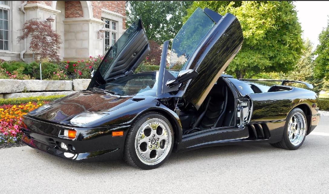 1999 Lamborghini Diablo Vt Roadster Sold Congratulations Lt