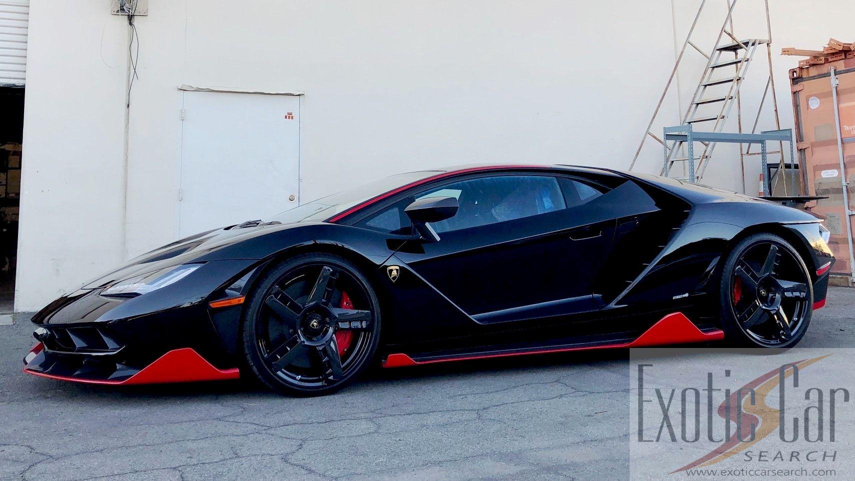 2018 Lamborghini Centenario Lp770 4 Coupe Exotic Car Search
